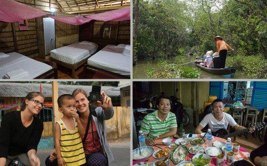 Ein Ausflug ins Mekong Delta lohnt sich in jedem Fall. (Bild: © Bettina Hielscher)