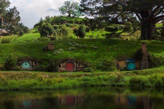 Hobbiten Filmset
