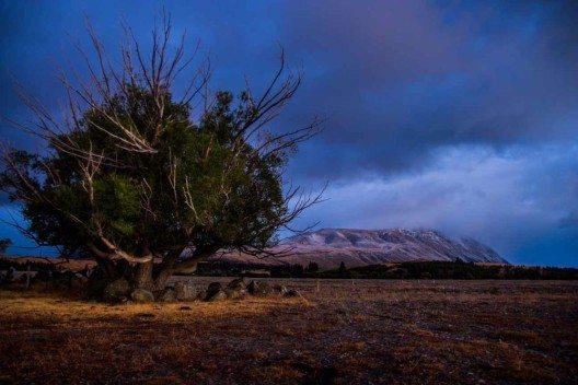 Mt. Cook - ,Durchbohrer der Wolken`