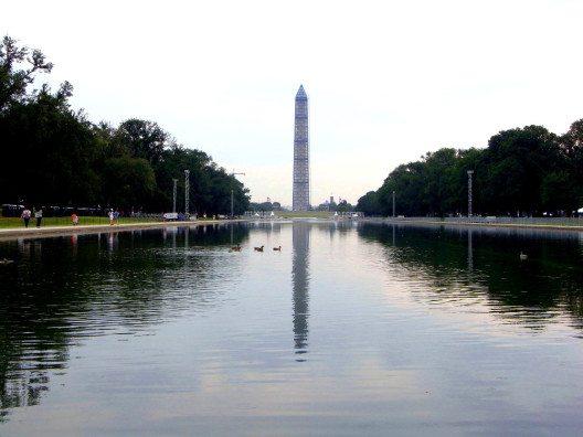 Das Washington Monument wurde zu Ehren von George Washington erbaut. (Bild: © Annkatrin Börgert)