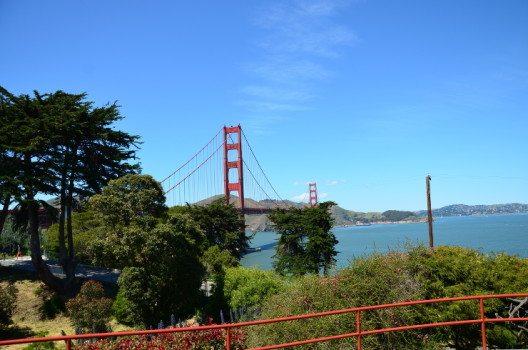 Die Golden Gate Bridge liegt am Eingang zur Bucht von San Francisco. (Bild: © Marina Sutter)