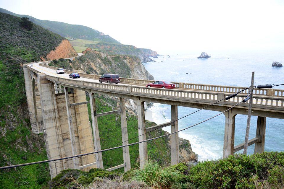 Auf eurer Kalifornien-Reise fahrt ihr über 1000 Kilometer im Auto. (Bild: © Marina Sutter)