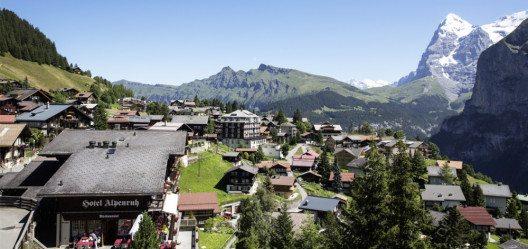 Hotel Alpenruh in Mürren (Bild: alpenruh-muerren.ch)