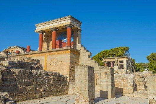 Knossos: Die grösste antike Palastanlage der Insel (Bild: © alexandros petrakis - shutterstock.com)