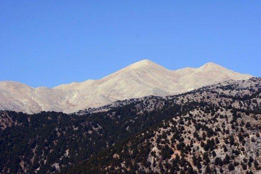 Die Lefka Ori bilden im Westen Kretas das grösste Gebirge der Insel. (Bild: © gkordus - shutterstock.com)