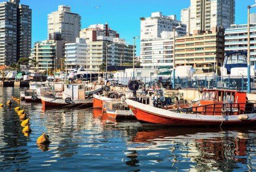 Punta del Este liegt direkt an der Mündung des Rio de la Plata. (Bild: © Ksenia Ragozina - shutterstock.com)