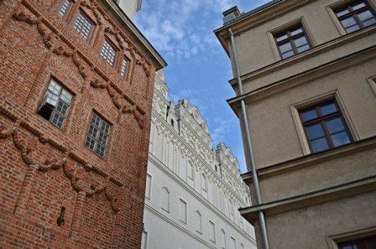 Wahre Fassadenkunst in Stettin. (Bild: © Julia Schattauer / bezirzt.de)