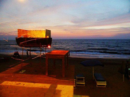 In Goa gibt es allabendlich BBQ und der Duft von gegrilltem Fisch liegt in der Luft. (Bild: © Julia Schattauer / bezirzt.de)