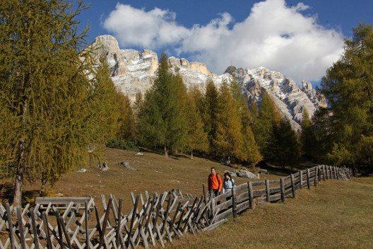 Im Südtiroler Alta Badia wird der Herbst eingeläutet. (Bild: PHOTOPRESS/Freddy Planinschek)