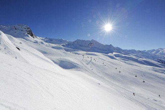 Das Skigebiet Hochgurgl – Blick auf die Grosse Kahrbahn. (Bild: © www.hotel-riml.com)