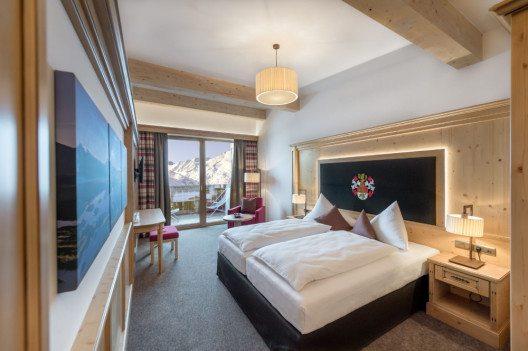 Ein Doppelzimmer im Hotel Riml. (Bild: © www.hotel-riml.com)