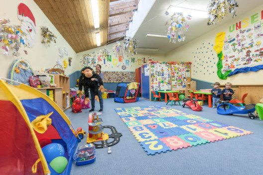 Hier stehen Kinder im Mittelpunkt. (Bild: © www.hotel-riml.com)