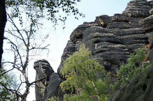 Die Sandsteinfelsen der Sächsischen Schweiz.(Bild: © Julia Schattauer / bezirzt.de)