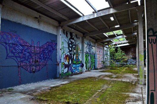 Street Art in den den grossen Hallen. (Bild: © Julia Schattauer / bezirzt.de)