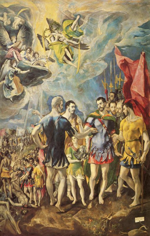 Das Martyrium von St. Maurice, 1580–1582 von El Greco (Bild: © Wikimedia, GNU)