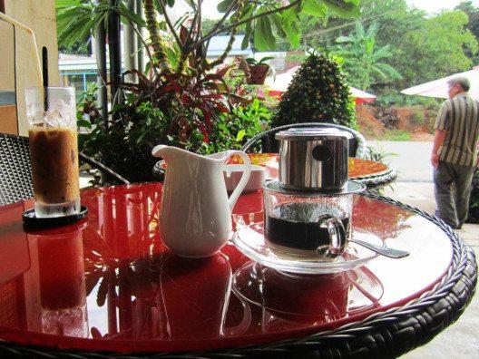 Ein typisch vietnamesischer Kaffee. (Bild: © Julia Schattauer / bezirzt.de).