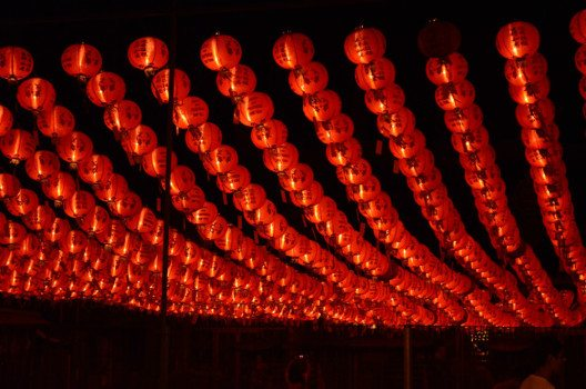 Chinafeeling auf dem Nachtmarkt in der Pentaling Street. (Bild: © Julia Schattauer / bezirzt.de)