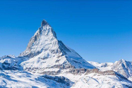 Der Winter hat am Matterhorn bereits Einzug gehalten. (Bild: © Vogel - shutterstock.com)