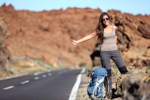 Per Anhalter durch Kalifornien (Bild: © Maridav - shutterstock.com)