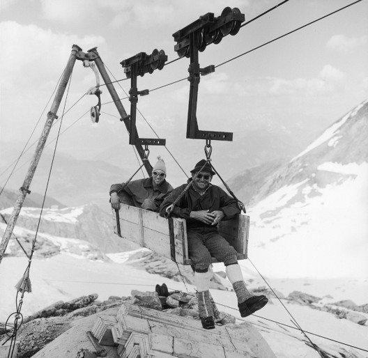 In den 70er Jahren brach eine wahre Begeisterungswelle für das Skifahren aus. (Bild: © Kitzsteinhorn)