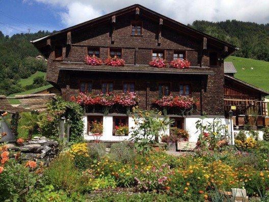 Wettbewerbs-Gewinner: Das am schönsten geschmückte Haus in Engelberg - Untereggli 2. (Bild: © Engelberg-Titlis Tourismus AG)