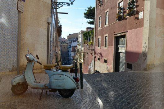 Pittoreskes Lissabon: Schöne Ecken überall. (Bild: © Julia Schattauer / bezirzt.de)