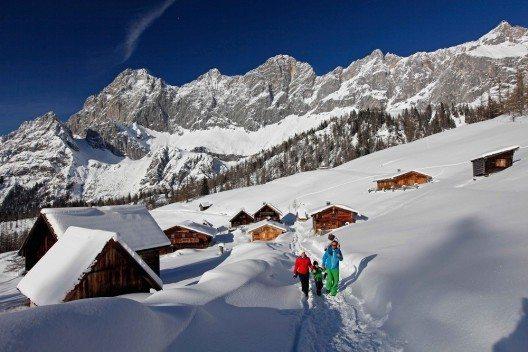 Das beliebte Familienskigebiet am Fusse des Dachsteins. (Bild: © photo-austria.at / Hans Simonlehner)