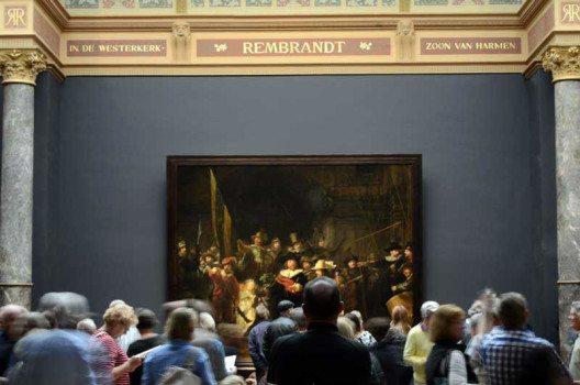 Rembrandts Nachtwache. (Bild: © Julia Schattauer / bezirzt.de)