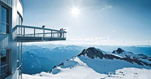 "Die Panorama-Plattform ""Top of Salzburg"" (Bild: © Kitzsteinhorn)"
