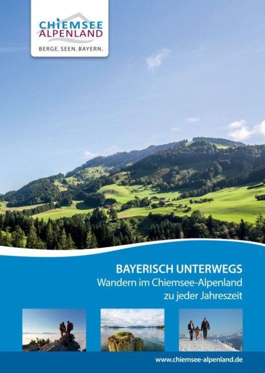 Neuen Wanderbroschüre das Chiemsee-Alpenland (Bild: © Chiemsee-Alpenland Tourismus)