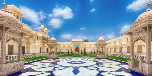 The Oberoi Udaivilas, Udaipur, Indien. (Bild: © Oberoi Hotels & Resorts)