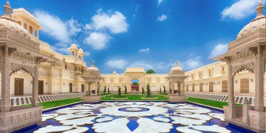 The Oberoi Udaivilas, Udaipur, Indien. (Bild: © Oberoi Hotels & Resorts)