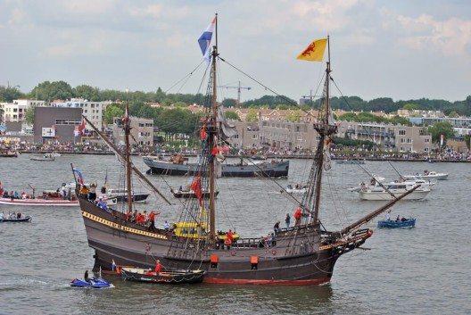 Es gibt Schiffe, die Geschichte geschrieben haben – so wie die Halve Maen. (Bild: © Pieter Beens - shutterstock.com)