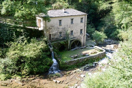 Eine Mühle im Muggiotal. (Bild: © Stefano Ember - shutterstock.com)