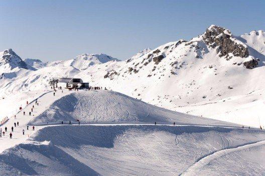 Im Skigebiet von Mayrhofen wartet in der kommenden Wintersaison die modernste Seilbahn der Welt. (Bild: © Nahlik - shutterstock.com)