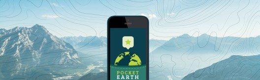 Verglichen mit anderen Anwendungen verfügen die Pocket Earth-Karten über eine 20-mal kleinere Dateigrösse, sind aber dennoch acht Mal detaillierter. (Bild: © GeoMagik LLC)
