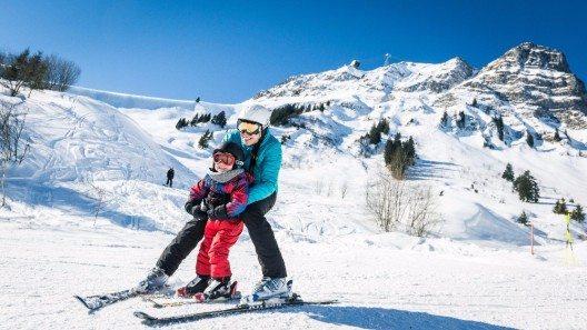 Fribourg Region Skifreuden für Gross und Klein.