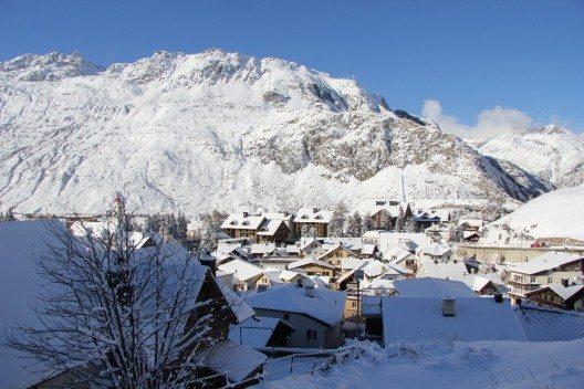 Andermatt hat sich in ein Winterwunderland verwandelt.