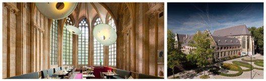 In alten mauern treffen sich zeitgeist und historie for Design hotel niederlande