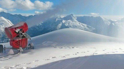 Dank optimaler Wetterbedingungen und eines gezielten Technikeinsatzes in den letzten Tagen startet Gastein schon am Wochenende in die Skisaison.