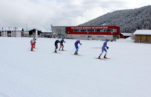 Internationale Mannschaften nutzen bereits die optimalen Trainingsbedingungen in Ramsau am Dachstein. (Bild: TVB Ramsau am Dachstein)