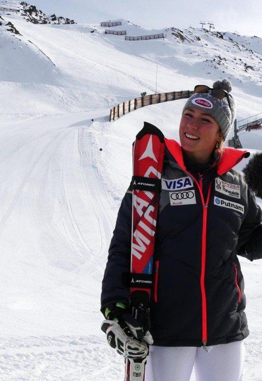 US-Superstar Mikaela Shiffrin (Bild) überzeugte sich bereits in der Vorwoche persönlich von den perfekten Pistenbedingungen in Obergurgl-Hochgurgl und nutzte diese für ihre Weltcup-Vorbereitung. (Bild: © Ötztal Tourismus)