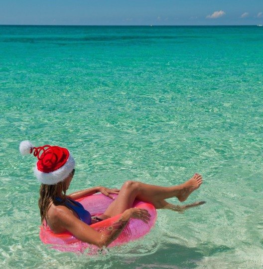 Cayman Islands: Weihnachten im Wasser