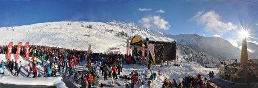 """Das weltgrösste Testportal von Skigebieten skiresort.de zeichnete das Hochzeiger Skigebiet im Pitztal als """"Geheimtipp bis 40 km Pisten"""" aus. (Bild: © Helmuth Sock / skiresort.de)"""