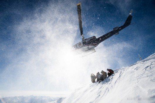 Heliskiing in den Rocky Mountains (Bild: © SelkirkTangiers_Alain Sleigher)