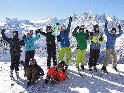 Schneesportlager 2015