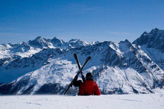 Skigebiet in Savognin (Bild: © K. Kolygo - shutterstock.com)