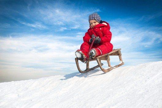 """Der """"Davoser Schlitten"""" ist der meistbenutzte Schlitten auf der Welt. (Bild: © pio3 - shutterstock.com)"""