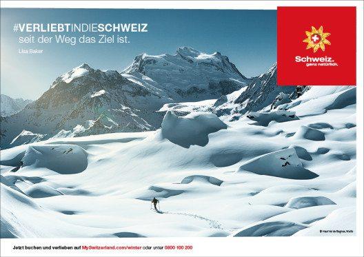 Der Weg ist das Ziel. (Bild: © Schweiz Tourismus)
