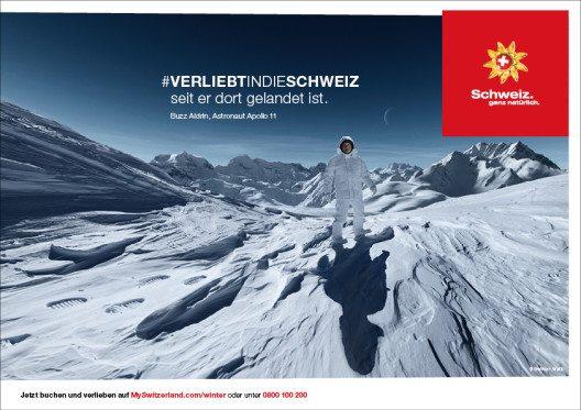 Verliebt in die Schweiz, seit ... (Bild: © Schweiz Tourismus)